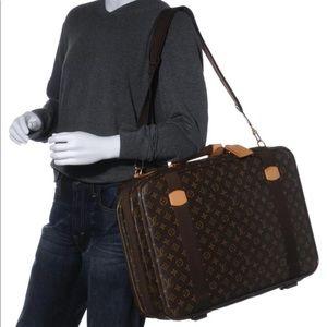 Auth Louis Vuitton Satellite 53 Travel Bag